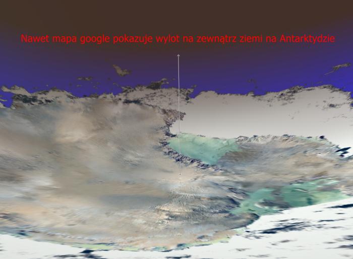 Antarktyda wylot punkt a
